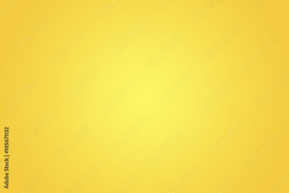 Fototapety, obrazy: Yellow gradient background.