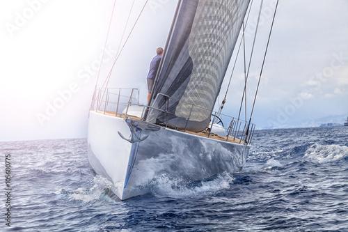 Garden Poster sailboat