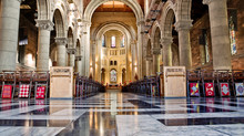 Internal Of Cathedral Saint Anne In Belfast