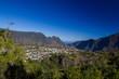 Ville de Cilaos depuis la Roche Merveilleuse