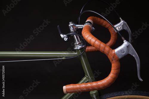 Türaufkleber Fahrrad Vintage bicycle handlebar