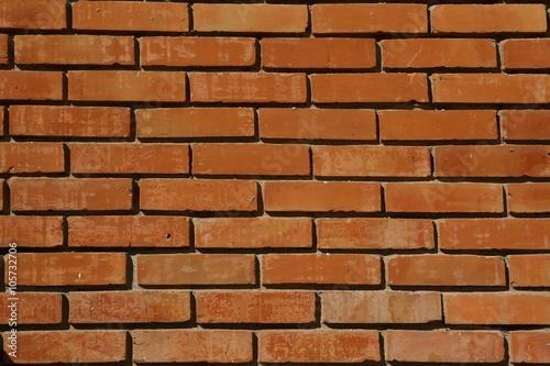 Fototapeta premium Mur z cegły czerwonej