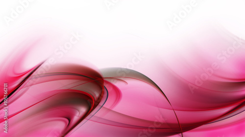 Staande foto Fractal waves Elegant abstract design for your awesome ideas