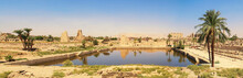 Lake At The Karnak Temple Complex