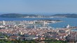 Toulon in a summer morning