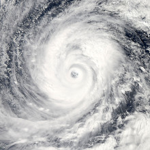 Global Storm Space Vortex. Elements Of This Image Furnished By NASA