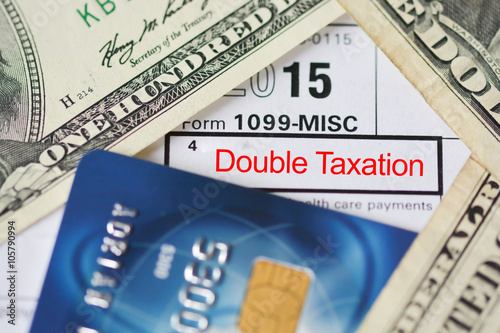 Double Taxation Agreement Avoidance Buy This Stock Photo And