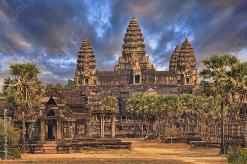 фотография  Angkor Wat Temple, Siem reap, Cambodia