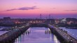 Charleston, South Carolina, USA skyline over the Ashley River.