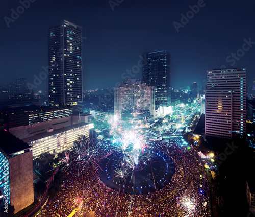 Jakarta New Year Eve