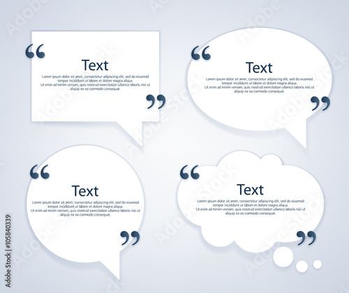quote bubble frames templates set buy this stock vector and