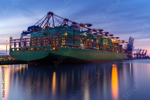 Valokuva  Container Ship Port