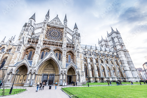 Fotografía  Westminster Abbey (The Collegiate Church of St Peter at Westminster) in London,U