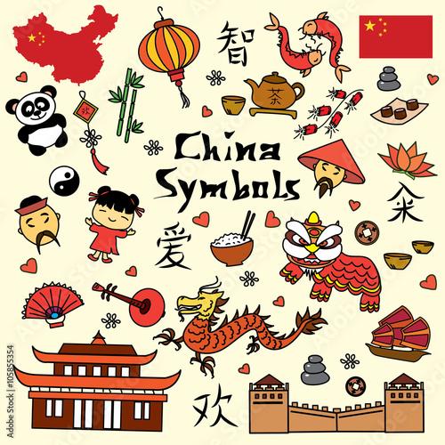 Set china symbol.