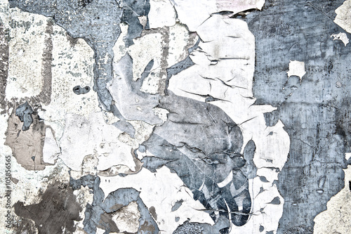 Foto auf AluDibond Alte schmutzig texturierte wand Vintage texture grunge peeling old cement wall background or Abstract cracked plaster concrete wall. Old street wall for poster background. High quality. Close up.