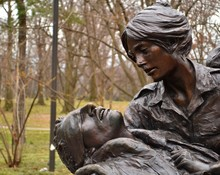 Vietnam Women's Memorial Nurse