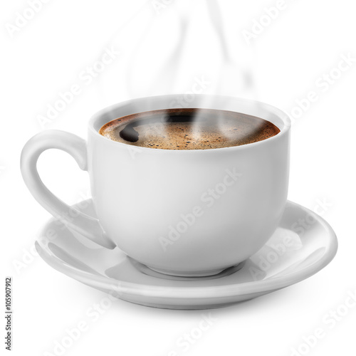 Photo  coffee cup isolated