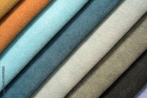 Tuinposter Stof Colorful cotton textile