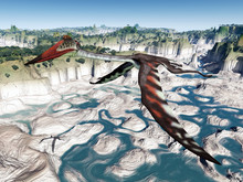 Flugsaurier Quetzalcoatlus