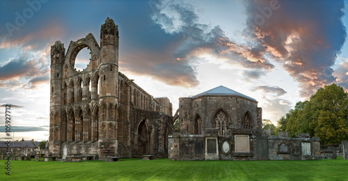Foto op Canvas Rudnes Elgin Cathedral