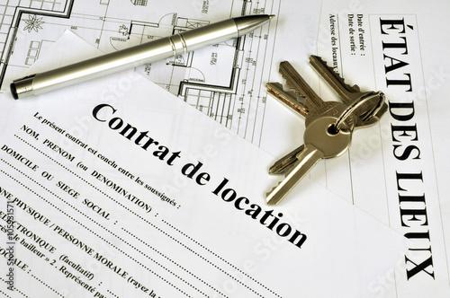 Fotografía  Contrat de location et état des lieux