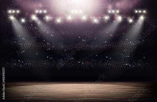 Basketball Arena Hintergrund Fototapete