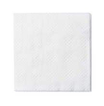 Top View Of White Paper Napkin