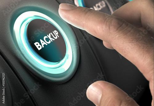 Fotomural  Data Backup, Security Concept