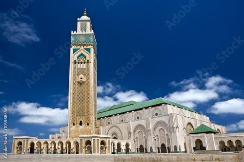 Morocco. Casablanca. Mosque of Hassan II
