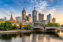 Melbourne's Central Business D...