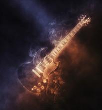 Smoke Hard Rock Guitar