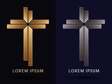 Gold And Silver, Luxury Cross ...