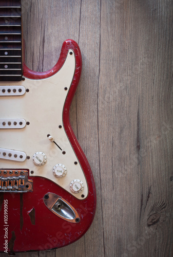 Photo  Electric guitar