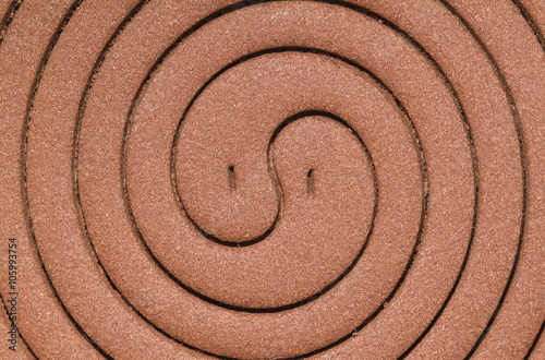 Mosquito coil texture for pattern and background Canvas Print