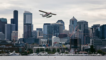 Seaplane In The Sky –  Seattle