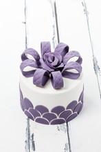 Fint Dekorerad Tårta