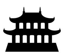 Temple Pagode Asiatique