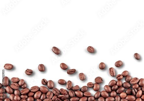 Poster Café en grains Coffee.
