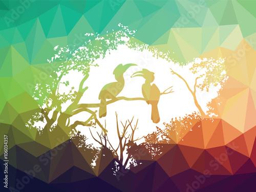 zwierze-dzikiej-przyrody-dzioborozec-na-pierwszym-planie