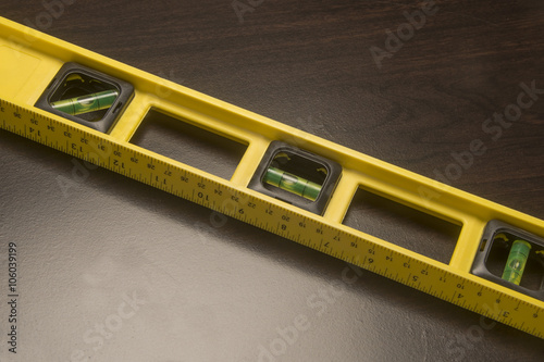 Fotografie, Obraz  Yellow Carpenters Level