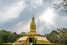 Golden Pagoda Architecture At ...