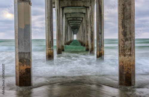 Photo  Scripps Pier- La Jolla, California