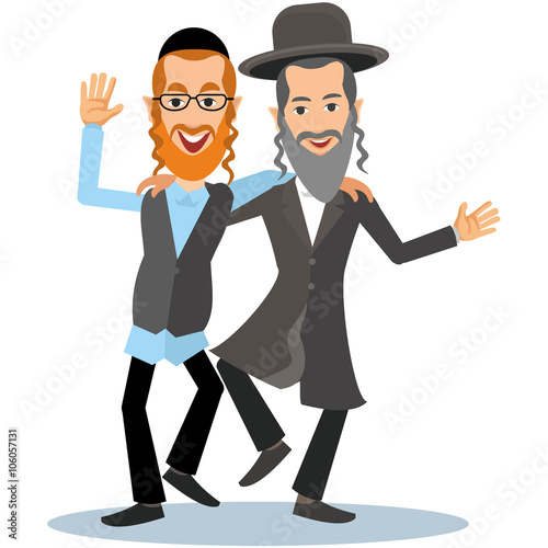 Fototapeta dancing jew obraz