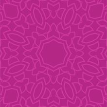 Seamless Pink Paisley Background