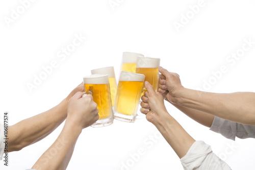 Fotografía  ビール乾杯