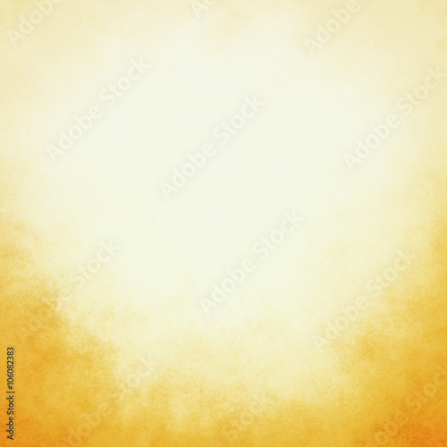 yellow gold background with pastel top border and gradient color to dark bottom border, old distressed vintage golden background with faded white color and vintage grunge texture