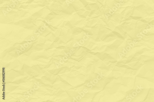 Pastel Yellow Wrinkled Paper Texture Background Wallpaper Buy This