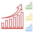 Vector growing graph