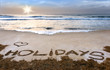 Holidays, summer beach