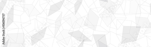 3D geometric background. Seamless pattern. Vector.3D幾何学パターン - 106096757